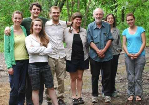 Moreau Lab in Costa Rica to work with Dan Janzen and Winnie Hallwachs – June 2012