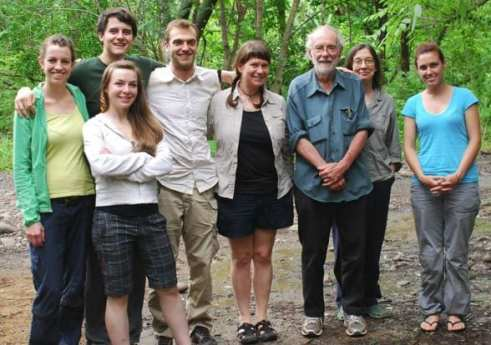 Moreau Lab in Costa Rica to work with Dan Janzen and Winnie Hallwachs – June 2012