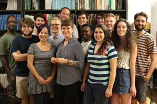 Grouup photo, Moreau Lab Summer 2016