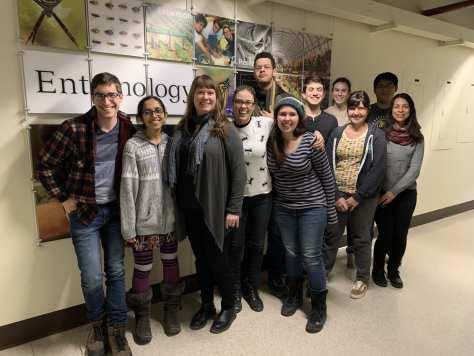 Group photo, Moreau Lab Chicago, February 2019