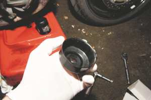 motorcycle oil change