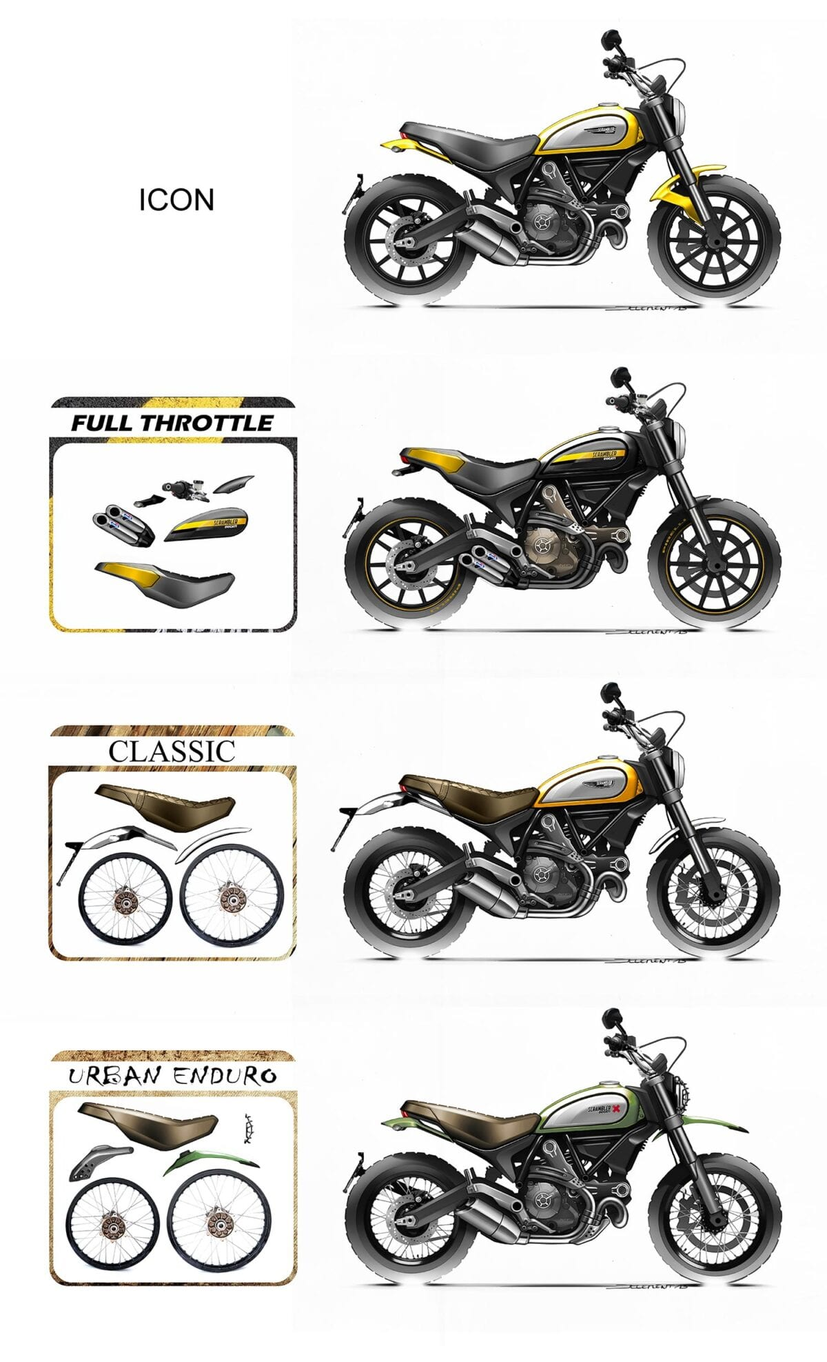 SCRAMBLER-SKETCH-VERSIONS