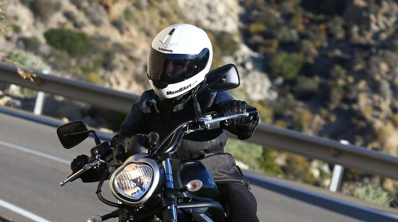 Schuberth c3 riding shot