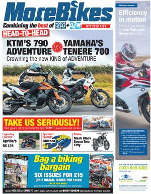 July edition of MoreBikes