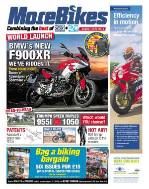MoreBikes cover