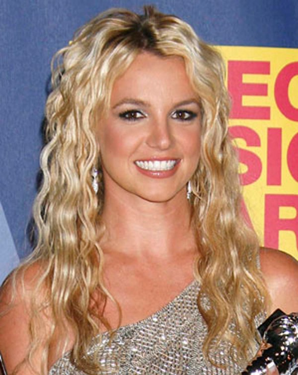 Britney Spears Curly Hair