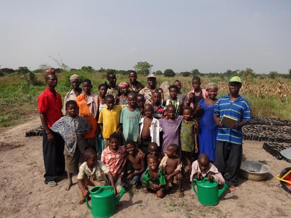 Families of Kpohaga Village