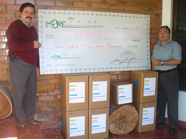 357,000 Tree Seeds Donated to COHORSIL