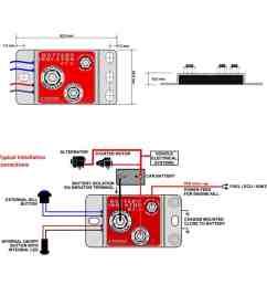 cartek battery isolator [ 1000 x 1000 Pixel ]