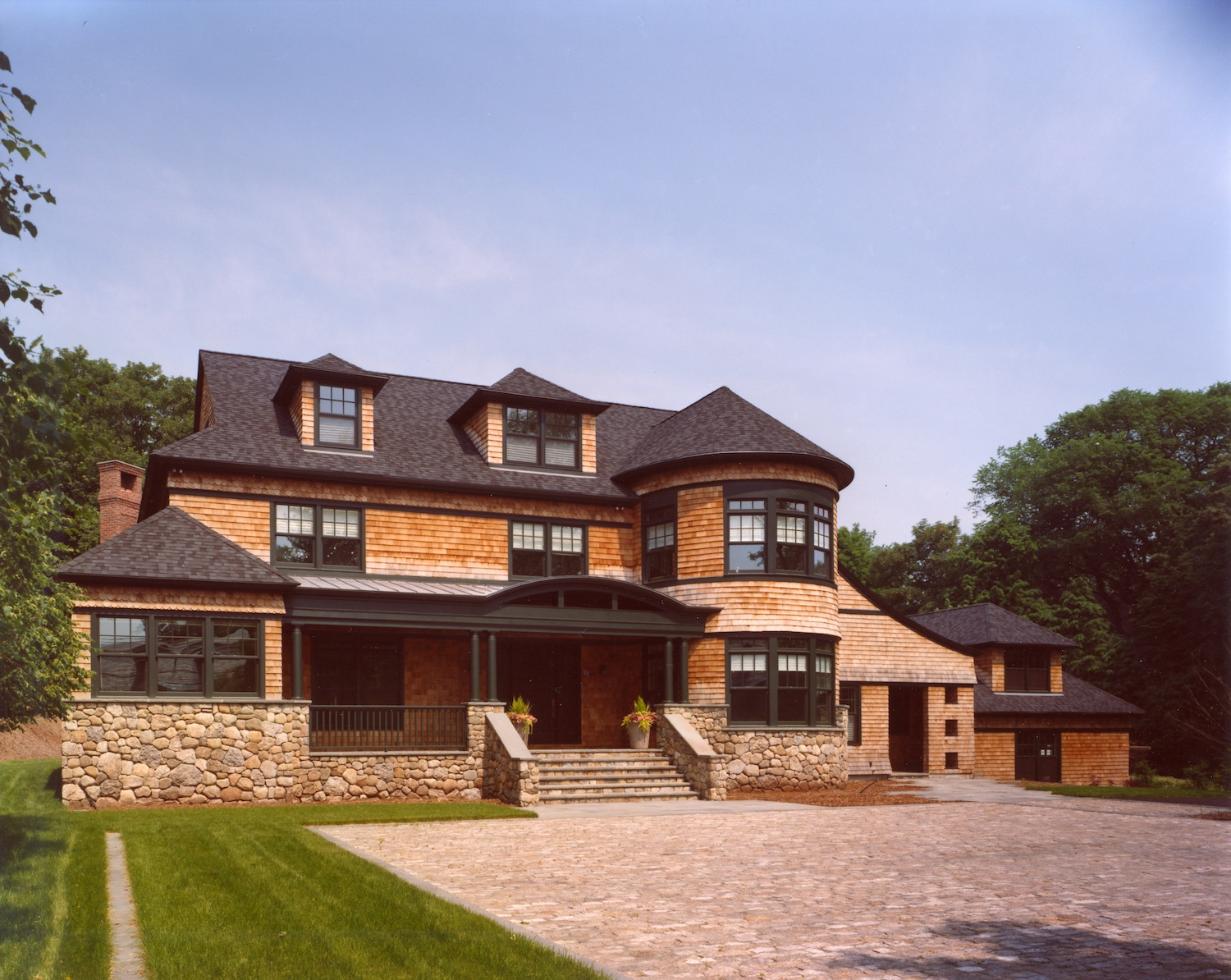 Shingle-Style MMA Home.