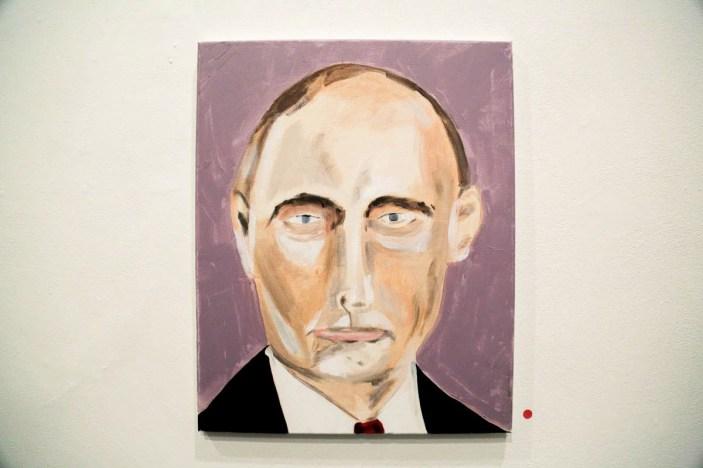 Morehshin Allahyari - The Paintings of *George W Bush