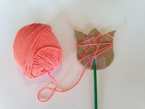 Yarn Flowers Craft