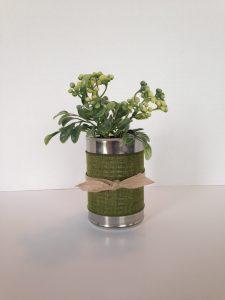 Tin Can Flowerpot