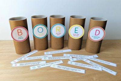 Free Printable Boredom Busters