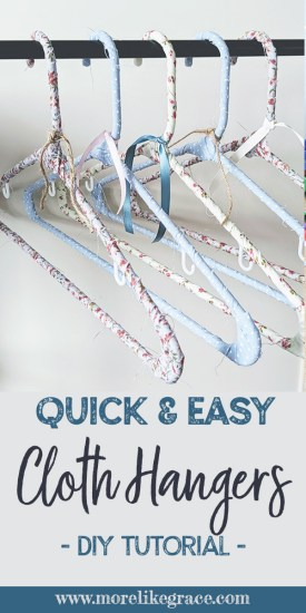 Fabric Hanger Tutorial