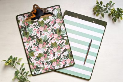 DIY Designer Clipboards