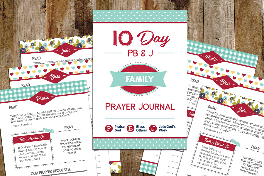 10-Day Family Prayer Journal