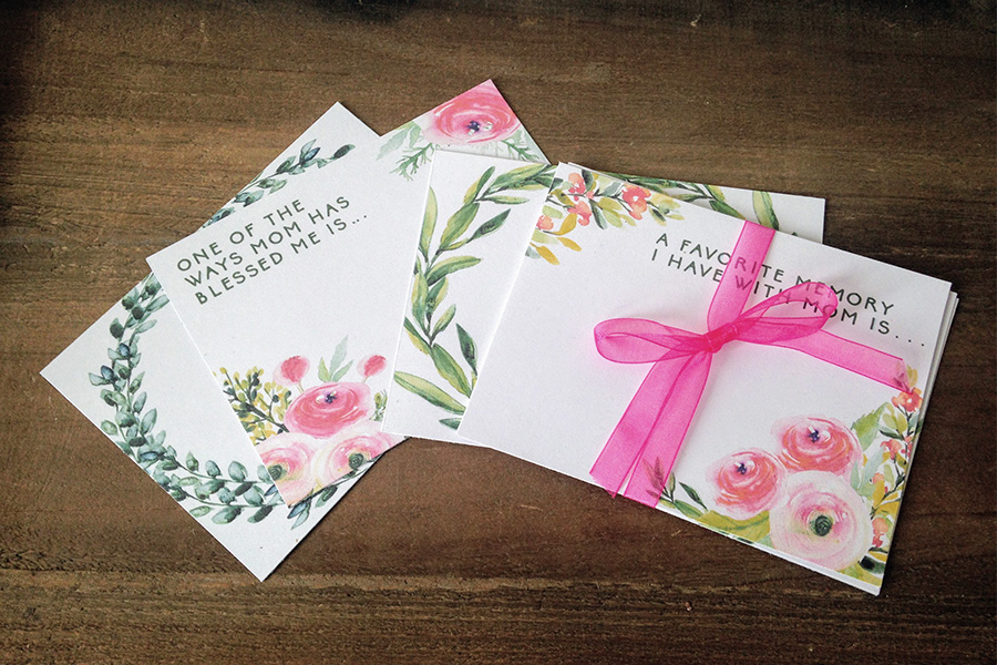 Mother's Day Blessing Cards: Free Printable