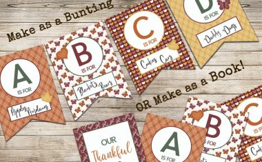 Thankful ABCs – Free Printable