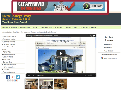 Mortgage Marketing Banner