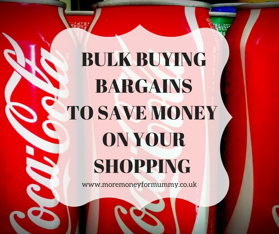 bulk buying bargains to save money on your shopping