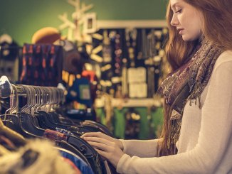 saving money using charity shops