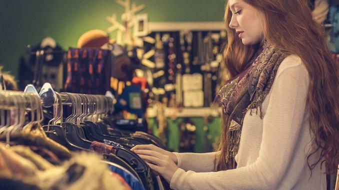 saving money using charity shops