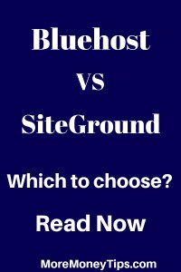 Bluehost Vs SiteGround. Which to choose?