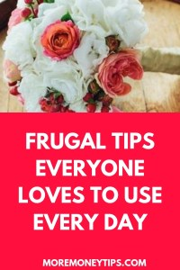 FRUGAL TIPS EVERYONE LOVES TO USE EVERY DAY