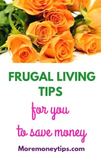 Frugal Living Tips for you to save money.