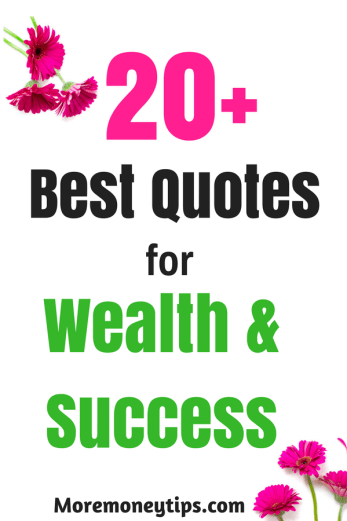 20+ quotes for money success