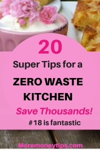 20 tips for a Zero waste kitchen