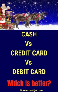 cash vs credit card vs debit card