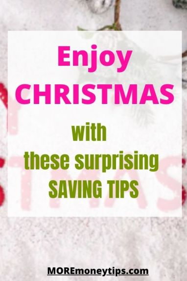 Enjoy Christmas with these surprising Saving Tips