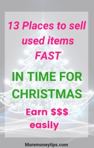 13 Places to sell used items fast for Christmas