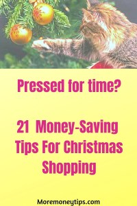 21 Money-Saving Tips for Christmas Shopping