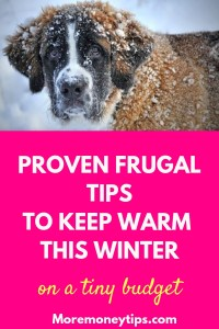 Proven frugal tips to keep warm this winter.