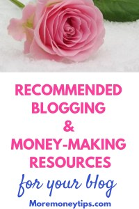 Recommended Blogging and Money-making Resources