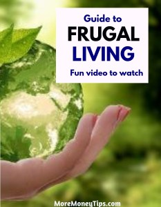 Guide to frugal living video