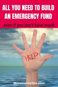 All you need to build and Emergency Fund