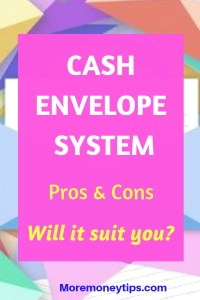 Cash envelope system. Pros and cons. Will it suit you?
