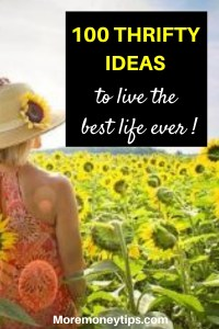 100 Thrifty Ideas to live the best life ever!