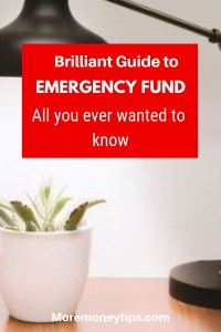 Brilliant guide to Emergency Fund. All you ever wanted to know