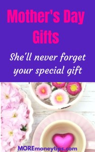 Mother's Day Gifts. She'll never forget your special gift.