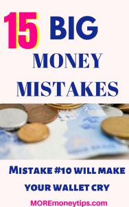 15 Big Money Mistakes.
