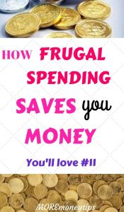 How frugal spending saves you money