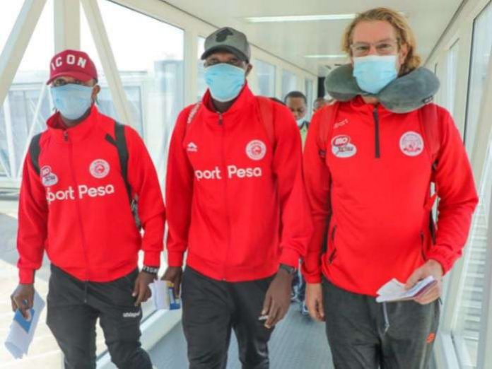 Tanzanian champions Simba SC arrived in Nigeria on Wednesday for their CAF Champions League match with Plateau United.