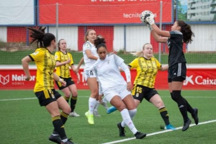 Mabel Okoye scored her first goal in Spain's Reto Iberdrola's 2020-21 season when Madrid II beat Pozuelo Alarcón 2-0 at Matapinonera on Saturday.