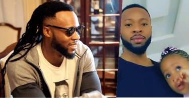 Singer, Flavour and his youngest daughter, Kaima celebrate their birthdays (Video)