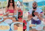 Williams Uchemba and wife pictured on their honeymoon (photos)